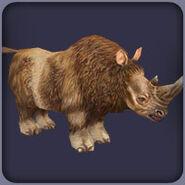 Woolly Rhinoceros zt2