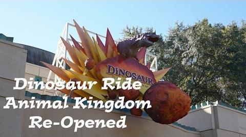 DINOSAUR RIDE ANIMAL KINGDOM RE-OPENS Post Refurbishment Ride Through FL Attractions 360