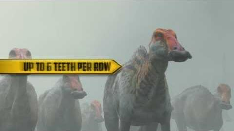Walking With Dinosaurs Dino Files Toothy Edmontosaurus 20th Century FOX