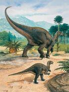John sibbick iguanodon