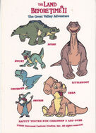 Land before time stickers