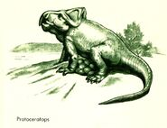 Protoceratops In the Days of the Dinosaurs