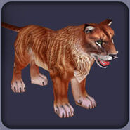 Red Cave Lion