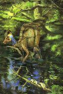 Corythosaurus prehistoric-animals-paleo