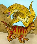 Gorgonops and Titanosuchus