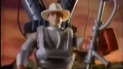 1994 Jurassic Park Series 2 Figures Toy Commercial by Kenner