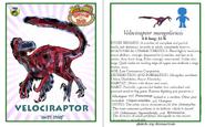 Dinosaur train velociraptor card revised by vespisaurus-db7s9pv