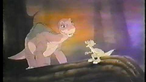 80's The Land Before Time TV Trailer Commercial