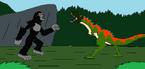 Kong vs t rex by syfyman2xxx dd0qp7c
