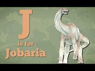Dinos A to Z, J is for Jobaria