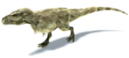 640px-New tyrannosaurus test render project mesozoica by sketchy raptor-d6wv444