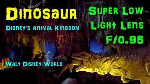 2018 Dinosaur Super Extreme Low Light HD POV with Full Queue and Exit Walt Disney World