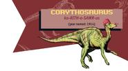 Jurassic Park Jurassic World Guide Corythosaurus