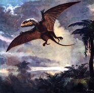 Dimorphodon by zdenek burian 1960