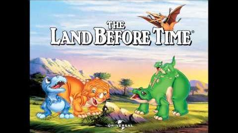 02 - Sharptooth And The Eartquake - James Horner - The Land Before Time