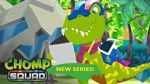 'Laryngitisaurus' 🗣️ Episode 20 Chomp Squad A NEW Series!