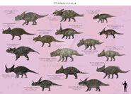Centrosaurinae by paleoguy-d87ybu4