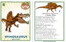 Dinosaur train spinosaurus card revised by vespisaurus-db7ogh9