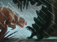 Fantasia Rite of Spring Dinosaurs Storyboard (Walt Disney, 1940)