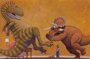 How-Do-Dinosaurs-Stay-Friends-2016-Acrylic 23c105e67227dacba21beb42c79e8837