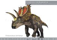 09-pentaceratops-SMITHSONIAN-dinosaur-stickers