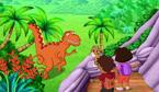 Dora and Diego T-Rex