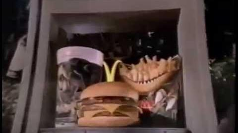 1993 McDonald's Jurassic Park Collectors Cups Meal Commercial by McDonald's