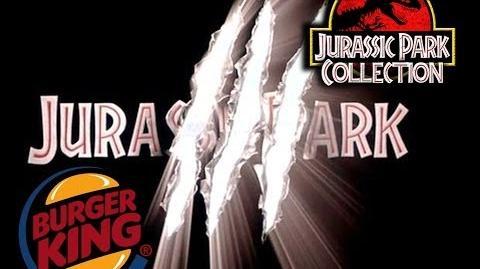 Burger King Jurassic Park 3