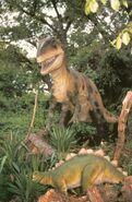 Allosaurus-Dinamantion-postcard