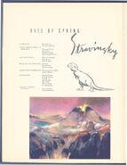 Fantasia 1940 Program rite of spring 1
