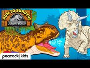 HOW TO SURVIVE JURASSIC WORLD- Most Dangerous Dinos