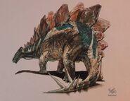 Stegosaurus by honeypaper ddj43rk-pre