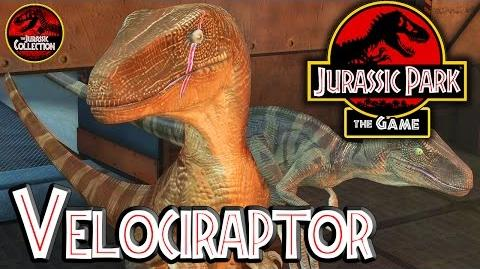 Jurassic Park The Game VELOCIRAPTOR Behind the Scenes