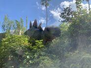 Isla Nublar Tour Stegosaurus