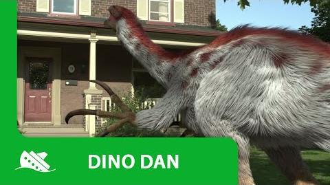 Dino Dan Therizinosaurus Promo