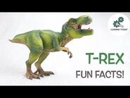 T-REX FACTS! -Fun & Educational - Dinosaurs For Kids - Best Dinosaur Facts