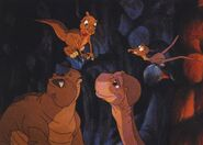 The land before time - We need someone to be the bait