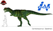 The lost world carnotaurus by march90-d5fekfb