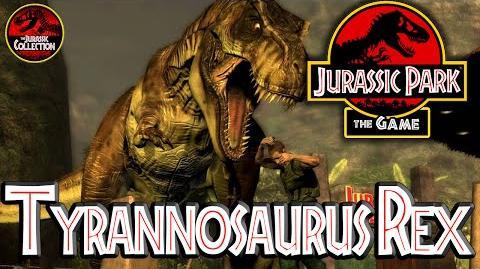 Jurassic Park The Game TYRANNOSAURUS REX Behind the Scenes