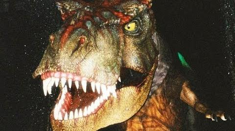 POV Jurassic Park The Ride River Adventure Universal Studios Hollywood