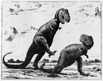 Tyrannosaurus, from 'Life Through the Ages'