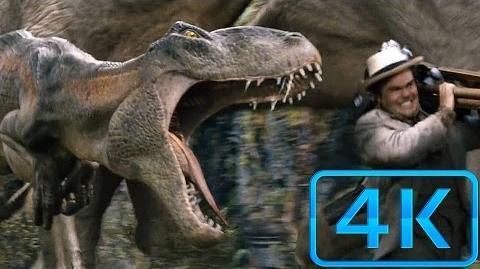 ''Dinosaur Stampede'' Scene - King Kong-(2005) Blu-ray 4K ULTRA HD (CLEAR HD)