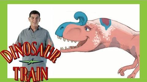 Cryolophosaurus - Dinosaur Train - The Jim Henson Company
