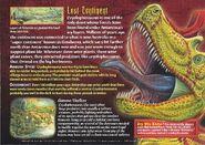 Cryolophosaurus back