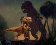 Butch and the Fantasia T-rex