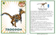 Dinosaur train troodon card revised by vespisaurus-db7yn0y
