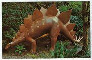 Stegosaurus, Prehistoric Gardens, Port Orford, Oregon front