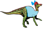 Wendy Darling the Corythosaurus