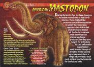 American Mastodon front