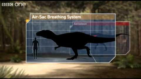 Breathing Techniques - Planet Dinosaur - Episode 1 - BBC One